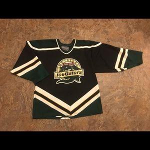 Vtg 90s Bauer la ice gators Jersey nhl hockey